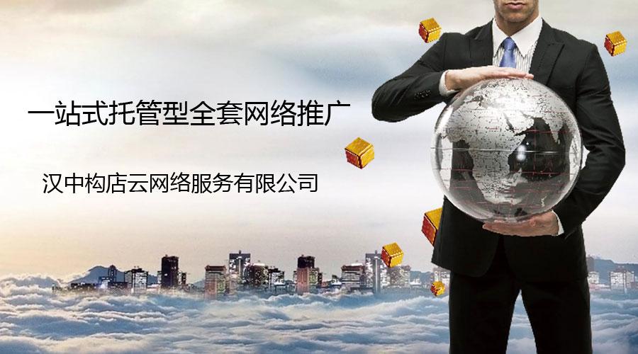 汉中专业正规企业品牌网络推广服务商构店,推出企业网络推广全托服务包